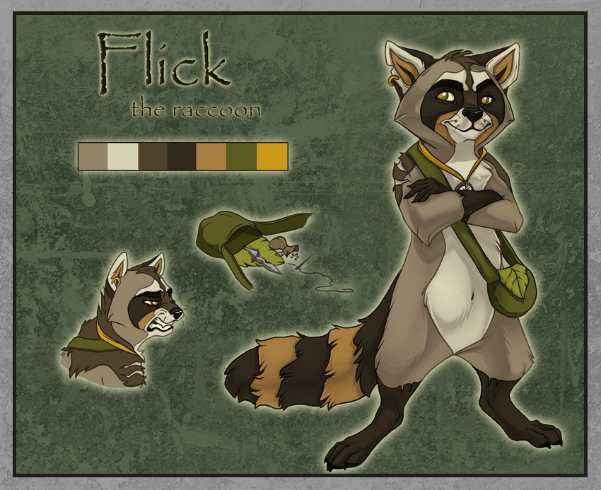Flick - Reference by Feyrah