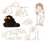 Momo Character Sketches