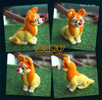 Smiley - Needle Felted Figure Commission