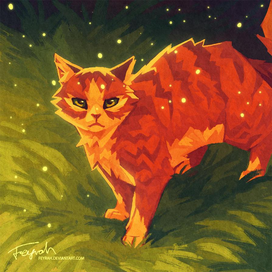 Warrior Cats Dawn Of The Clans Fanart: Firepaw By Feyrah On DeviantArt