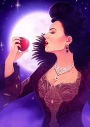 The Evil Queen... again by Feyrah