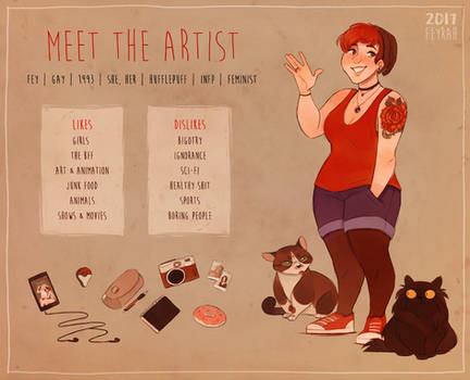Meet The Artist - Fey by Feyrah