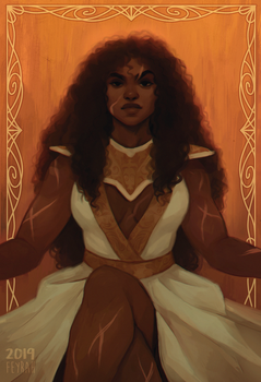 Ellayane - Warrior Queen of Westeros