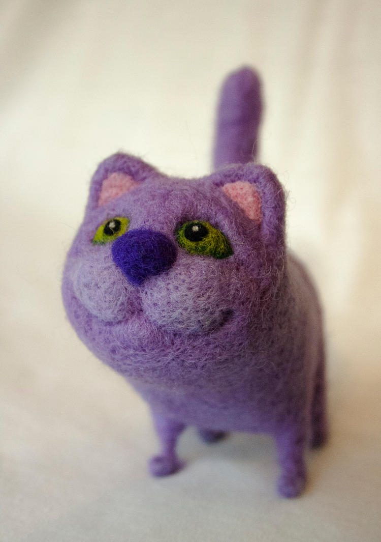 Lilac cat by Yubodoc