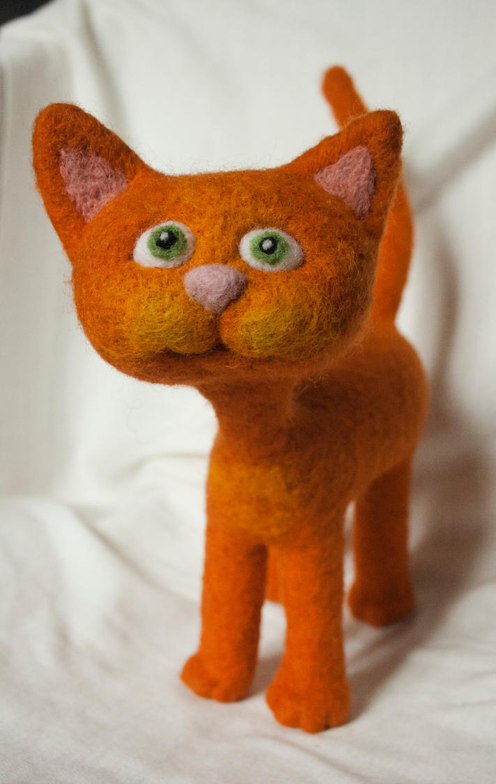 Red cat by Yubodoc