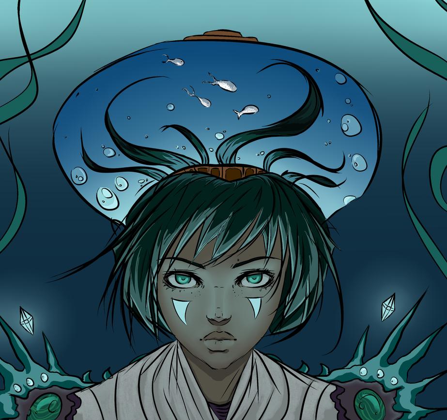 seamaiden by PorcelainCrusader