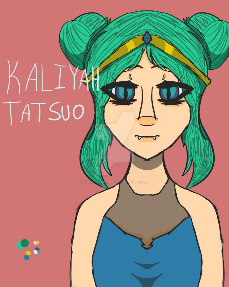 Kaliyah Tatsuo by HadleyRainbows