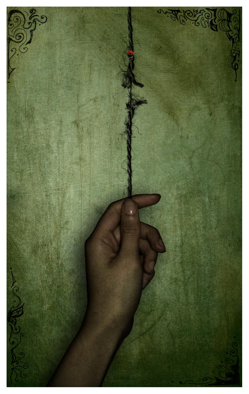 holding on by a thread by mysticblu3