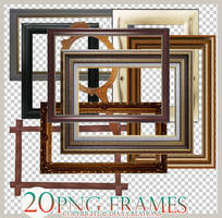 PNG FRAMES by CaT-S0uL