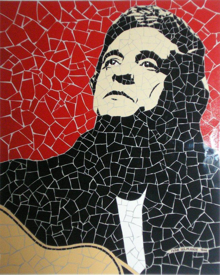 Johnny Cash, Personal Jesus by ulmann