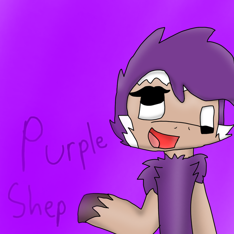 Purple Shep By DarkoGirl2016