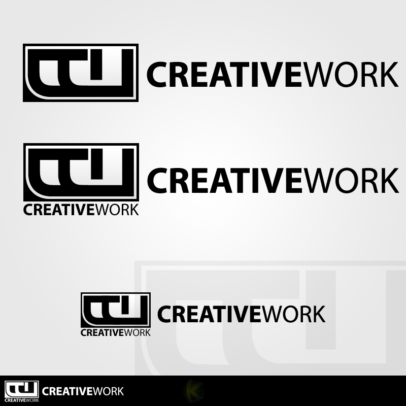 Creatii Grafice: KanYST Creative_work_logo_by_kanyst-d3ocuy6