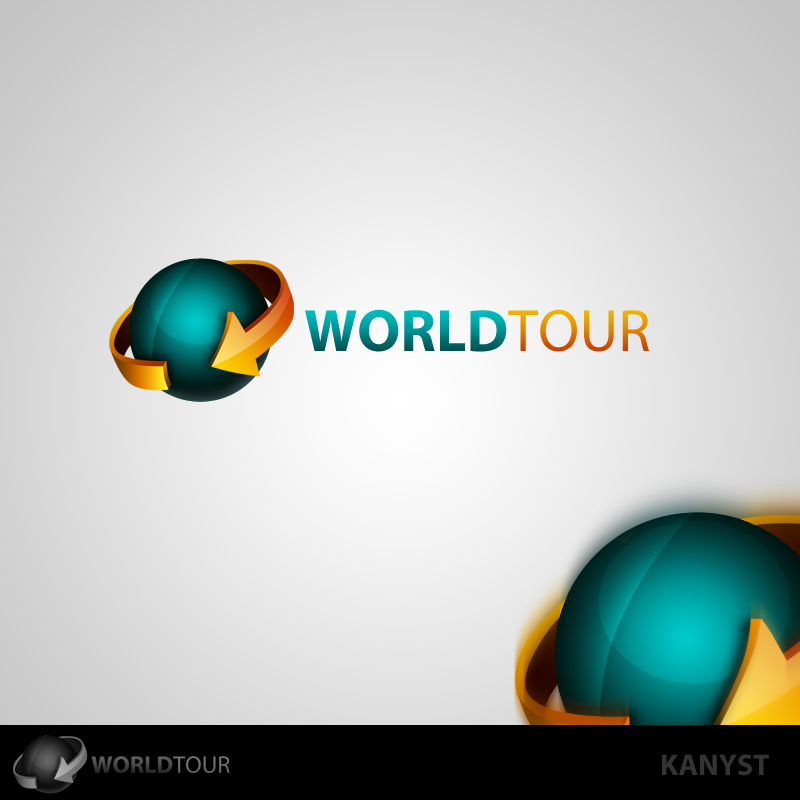 Creatii Grafice: KanYST Worldtour_logo_by_kanyst-d4czxb8