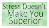 You're Just Stressed - Stamp by AishiranFeather