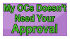 All OCs Are Unique - Stamp by S-oujiiSan
