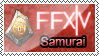 FFXIV Samurai - Stamp by S-oujiiSan