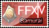 FFXIV Samurai - Stamp by S-oujiiSan