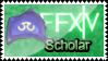 FFXIV Scholar - Stamp by S-oujiiSan