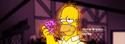 Homer Simpson Sig by filek2009