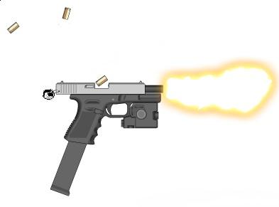 Glock 18 full auto by truetechnique9 on deviantART