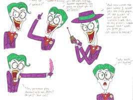 Joker's Gonna Joke by nerdsman567