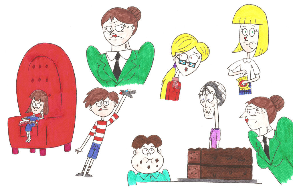 Image Gallery Matilda Cartoon