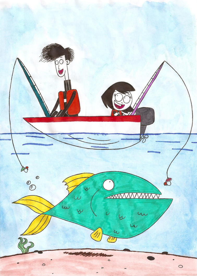 Big Fishing By Nerdsman567 On Deviantart