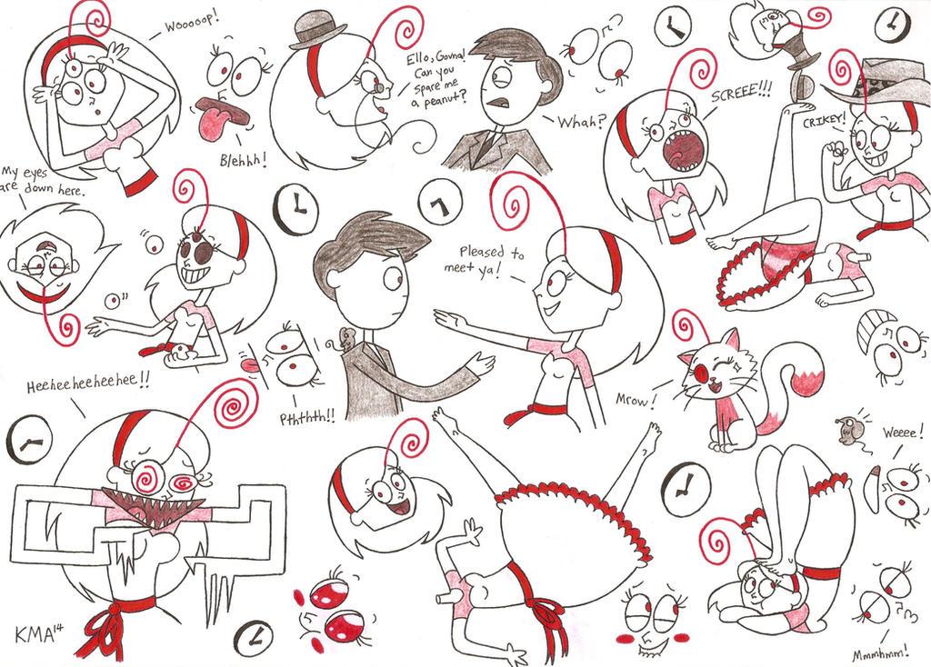 HiCKORY DiCKORY - Luna's Lunacy by nerdsman567