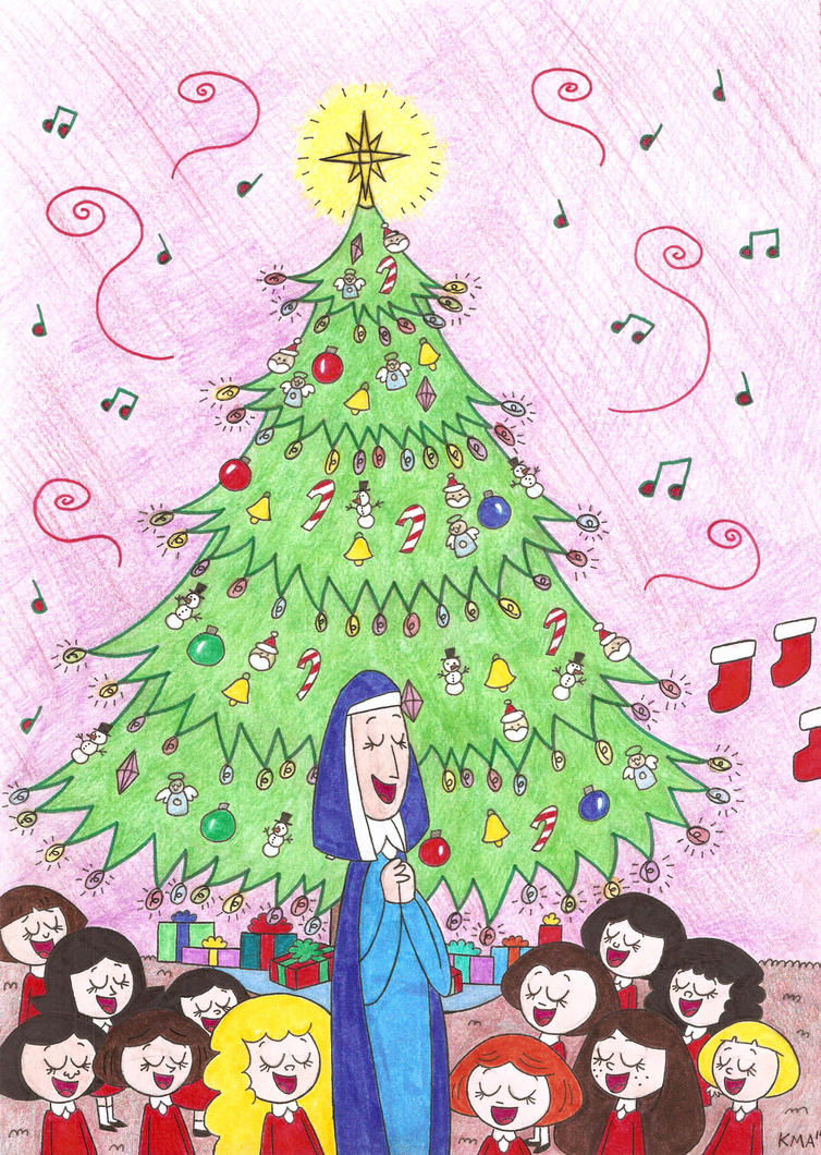 A Song for the Christmas Tree by nerdsman567 on DeviantArt