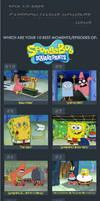 Top 10 SpongeBob SquarePants Episodes