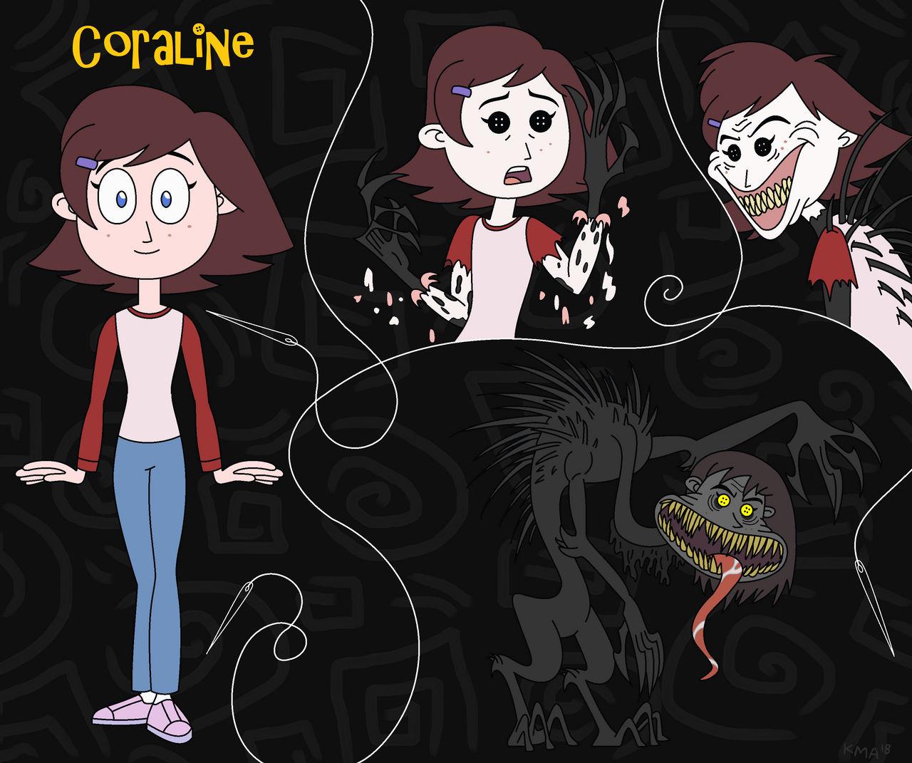 Coraline The New Beldam By Nerdsman567 On Deviantart