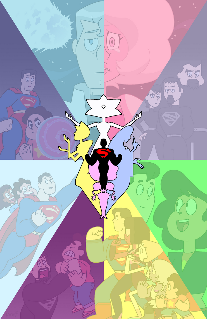 Superman/Steven Universe: Shattered Memories by nerdsman567