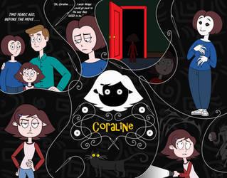 Neil Gaiman's CORALiNE by nerdsman567