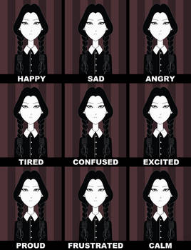 The Emotions of Wednesday Addams