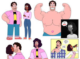 Grown Up Steven and Connie