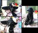 Giant Raven Plush