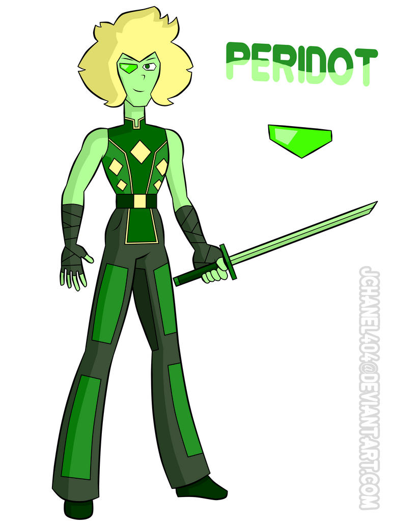 SU-OC-Peridot (Request) by Jchanel404