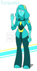 SU-OC-Turquoise (2 era) by Jchanel404
