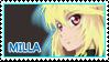 Milla Maxwell stamp