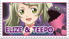 Elize and Teepo stamp
