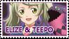 Elize and Teepo stamp by Akiyama-Lhant