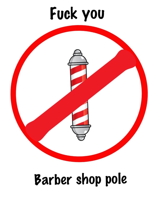Fuck Team Barber Shop 9