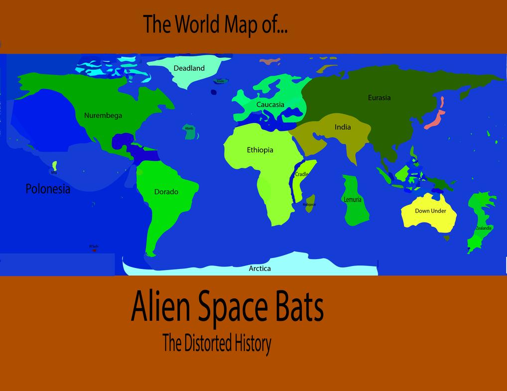 Alien Space Bats by Tet54
