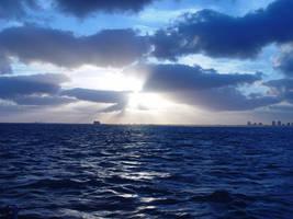Evening at Sea by riktorsashen