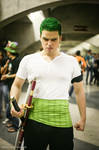 Roronoa Zoro - Get out of my way! by uiberon