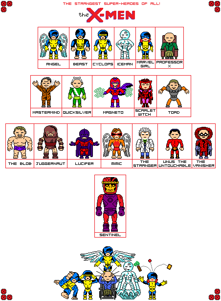 Go Back  gt  Gallery For  gt  X Men Character ListX Men Character List And Powers