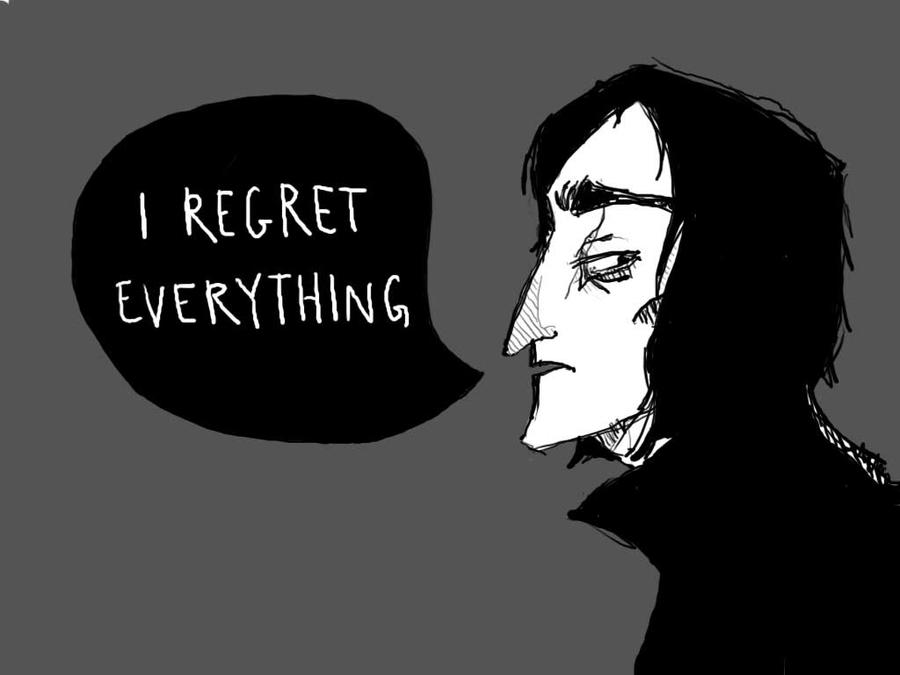 i regret everything by NintendoVii