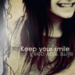 Keep Y O U R smile by nardeen