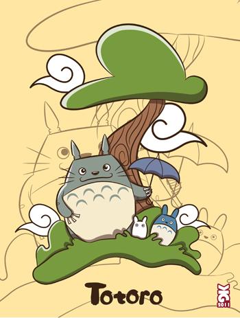 Totoro by krisren28