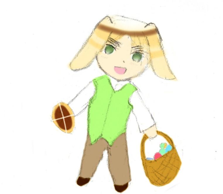 Uk Easter by UsagiBard
